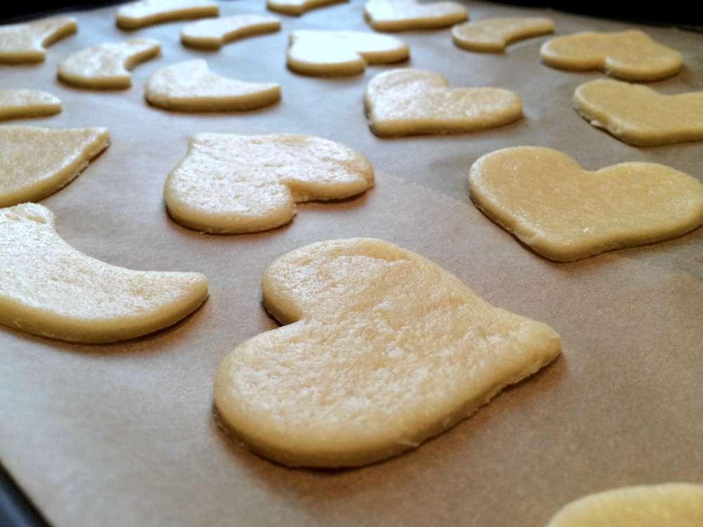 Butterkekse Gebäck Vegan Einfach Lecker